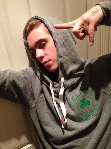 Sammy Adams Boston Celtics Hoodie by Sportiqe