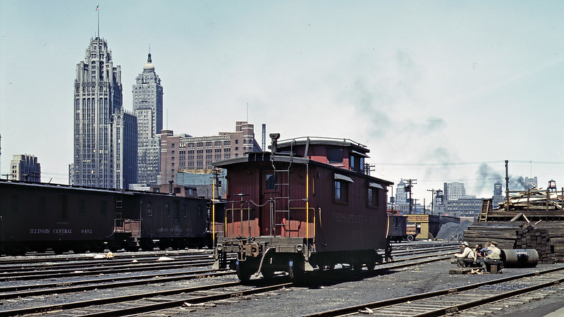 South Water Street freight depot in Chicago