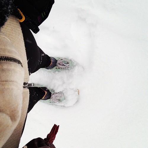 Nää kengät oli huono valinta toho säähän :D mut jeeee en yhtää valita, nyt on ainaskii lunta <3 hihii