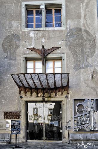 Museo H. R. Giger  - Gruyères, Suisse -