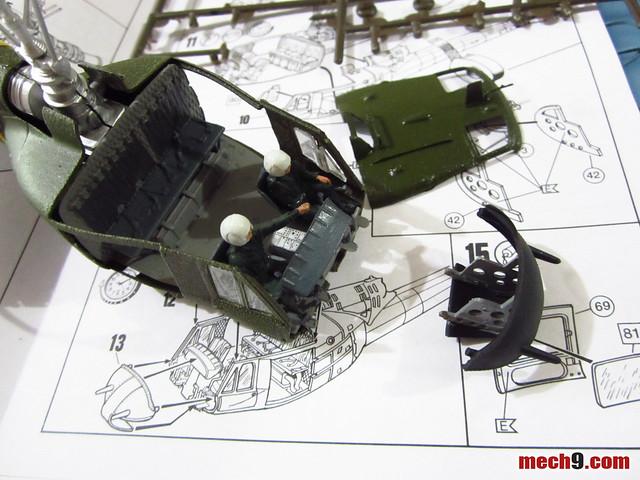 1/48 Revell/Monogram UH-1 Huey