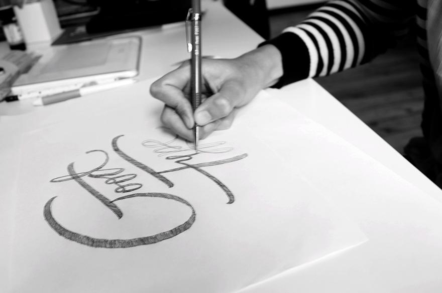 Lettering vs Calligraphy Martina Flor