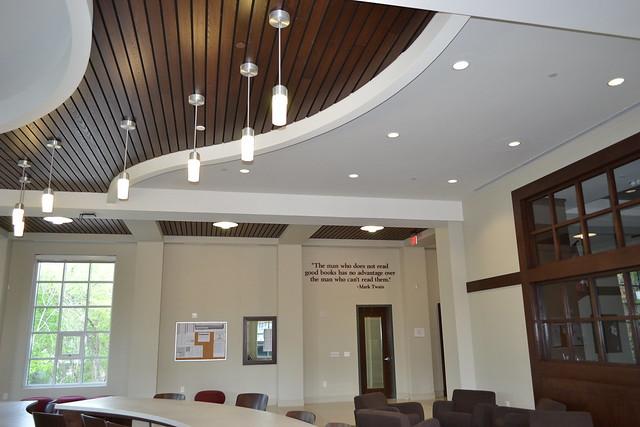 Custom design wood ceiling flickr photo sharing for Custom ceiling designs
