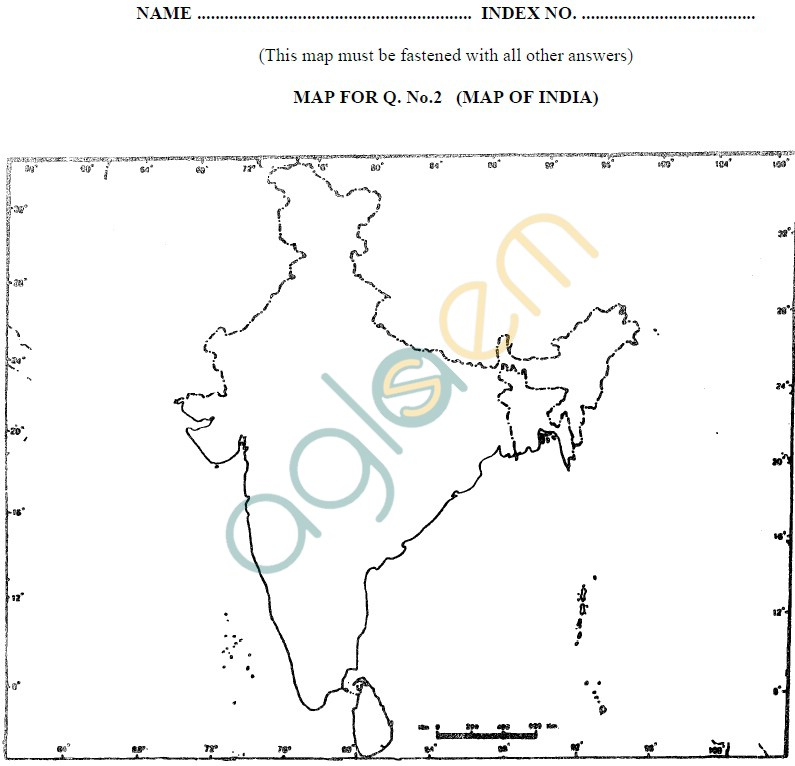 ISC Class 12 Geography Sample Paper