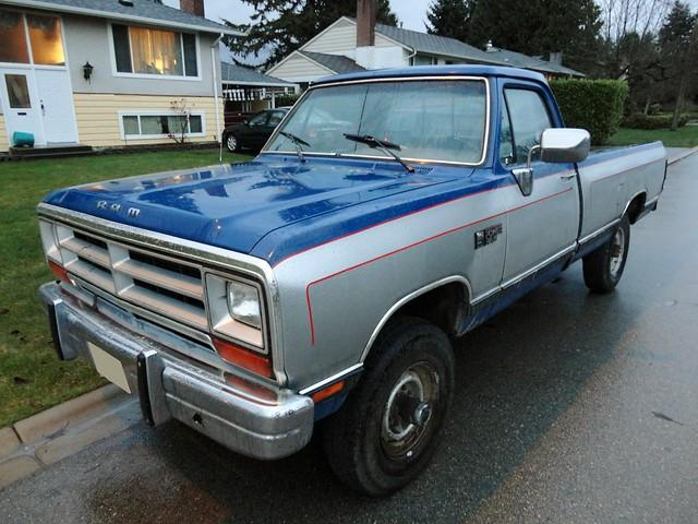 1990 dodge w 250 power ram pickup truck 4x4 flickr photo sharing. Black Bedroom Furniture Sets. Home Design Ideas