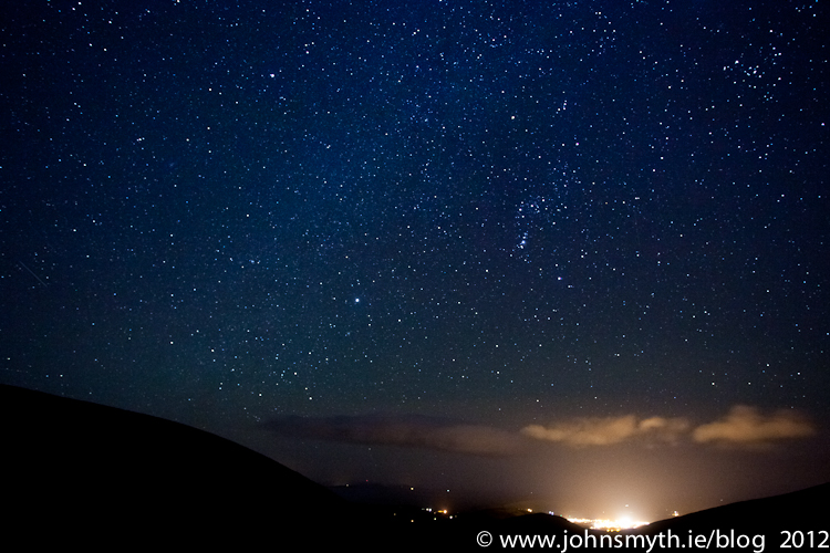 Stars over Dingle