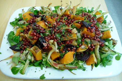 Puy Lentil and Roasted Beetroot Salad