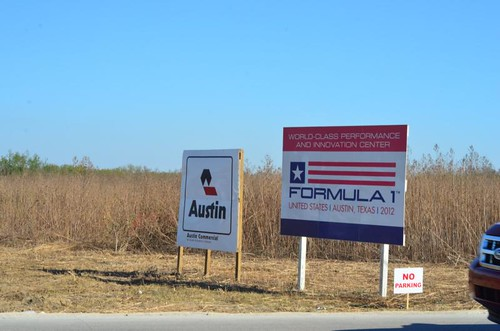Formula 1 in Austin Texas