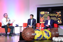 Embassy Supports Sports Diplomacy Through Event With Erick Thohir and Handy Soetedjo, First Asian NBA Owners