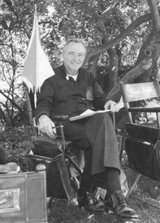 "Actor Jack Lemmon at Pomona College during the filming of ""Mass Appeal"" in 1983"