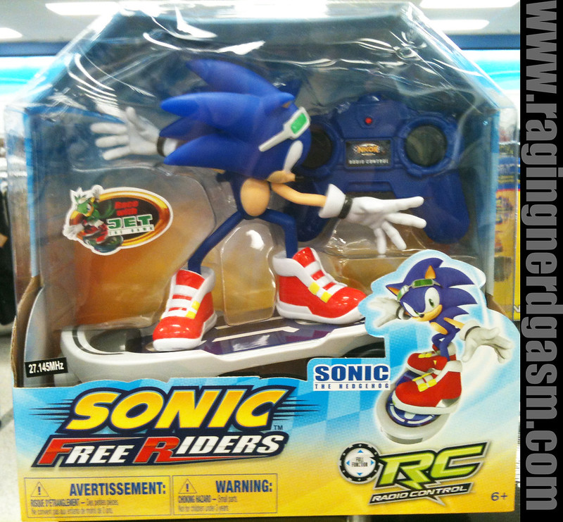 Sonic Free Riders RC Sonic by Nikok 001