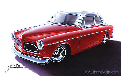 Volvo_Amazon_Kustom_1969_red by Janne Kutja