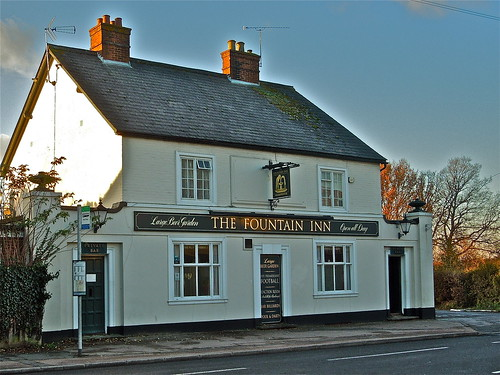 The Fountain Inn 2 by Irene.B.