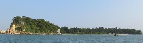 鱷魚島。林大聲提供。