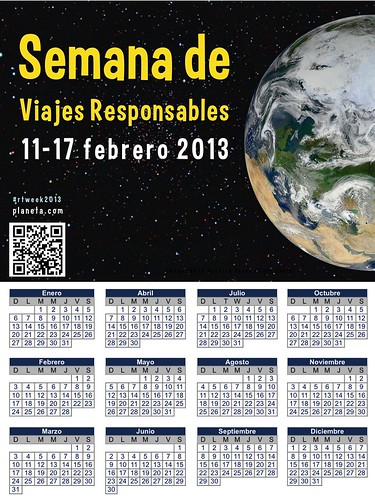 Semana de Viajes Responsables y Calendario 2013