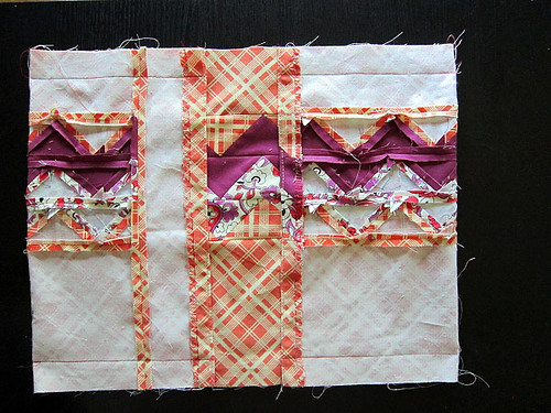 Zigzag Patchwork Journal Cover tutorial — Stitched in Color
