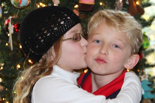 Amy kiss