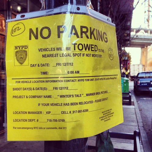 Filming in Dumbo: Winter's Tale