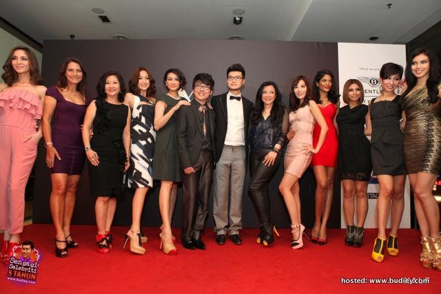 Eliana, Datuk Yasmin, Dato Ruby Khong, Debbie Goh, Dynas, Xavier, Alfred, Datin Reiss Tiara, Chris Tong Bing Yu, Thanuja, Mizz Nina, Cecilia, Dian Sharlin