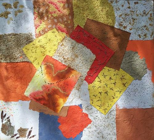 Acacia's painting at Sarit Craft fair