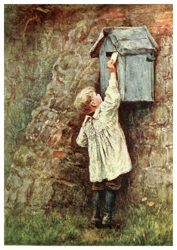 021- Buzon postal-Happy England as painted by Helen Allingham-1903
