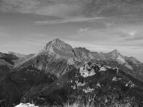 Monte Forato from M Procinto