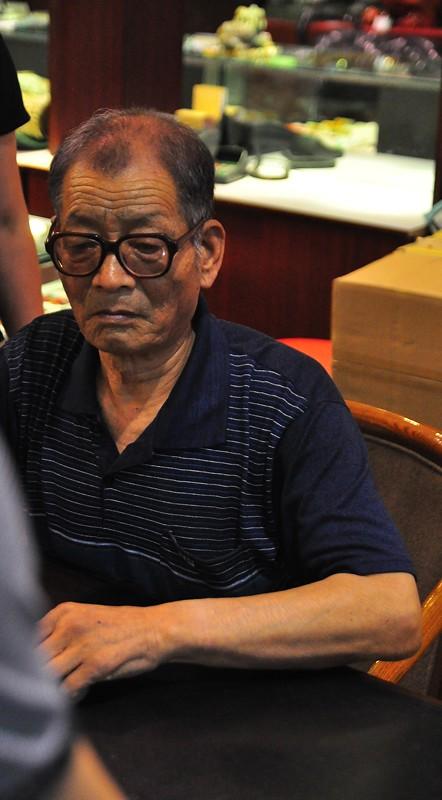 Xian Farmer who discovered the Terracotta Warriors, Xian China