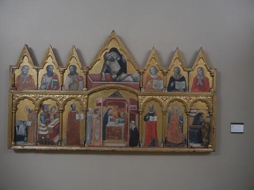 DSCN3284 _ Polittico con la Presentazione  al Tempio e la Pietà, Pseudo Jacopino, 1330-35