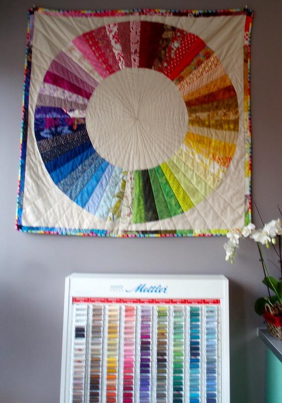 Colour Wheel at Fabrications (Ottawa)