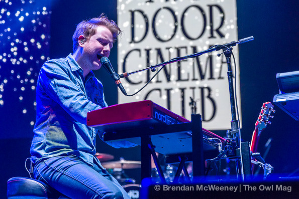 Two Door Cinema Club @ Oracle Arena, Oakland 12/7/12