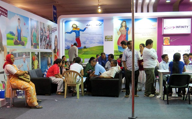 Pune Property Exhibition - Sakal Vastu - Property Expo - December 2012 - 8