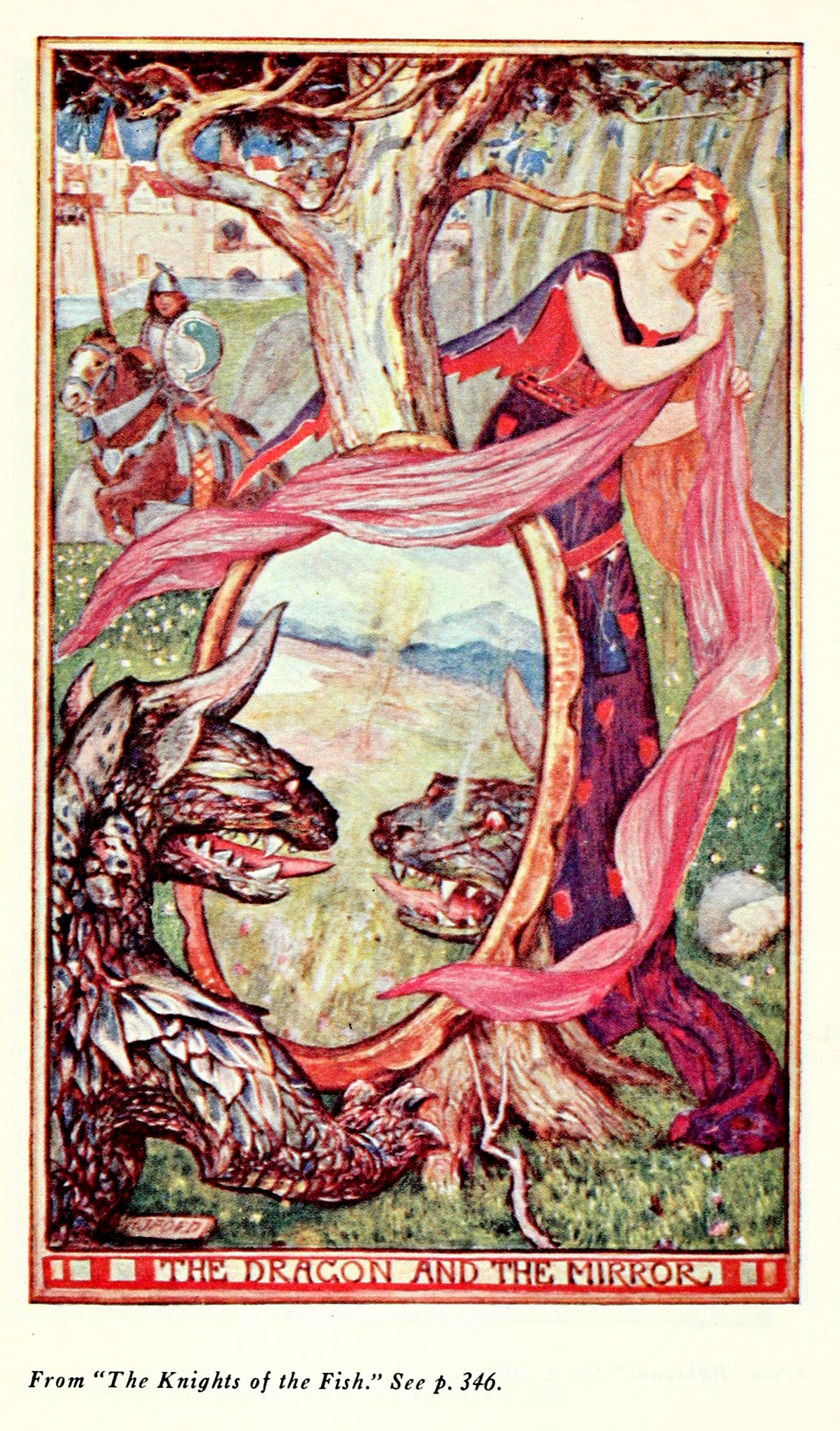 Henry Justice Ford - The brown fairy book, edited by Andrew Lang, 1965 (color plate)