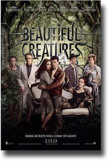 Beautiful Creatures 2013 Movie Poster  - Poster available for sale at ConcertPoster.Org full link below