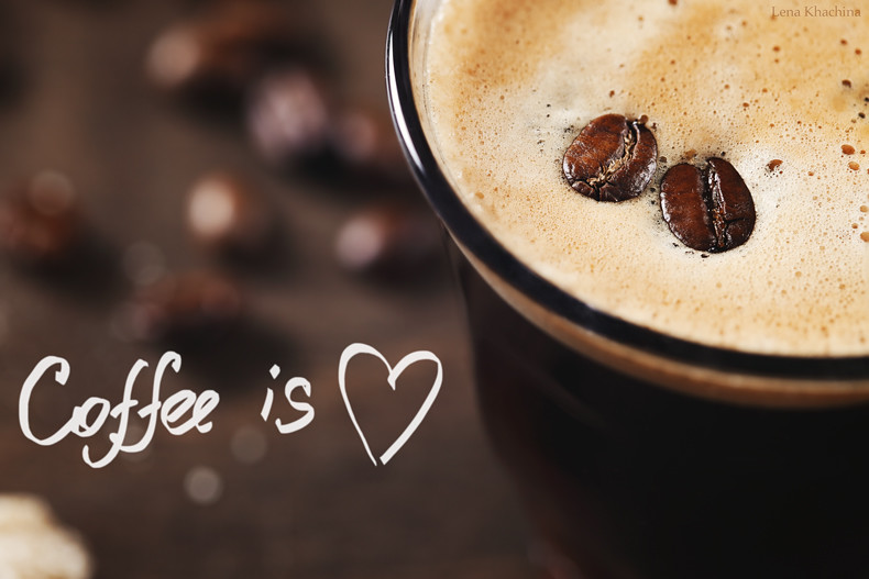 Coffee is *heart*