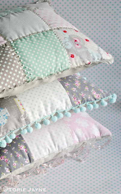 Patchwork cushions tutorial