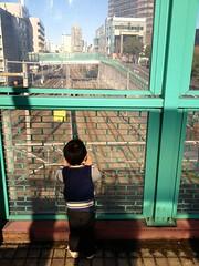 跨線橋にて 2012/12/16