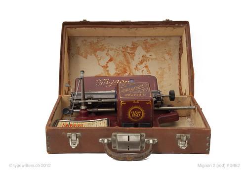 Mignon 2 typewriter
