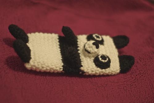 amigurumi#94 iPhone cosy panda clone 2