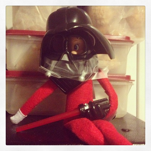 Luke, I am your Father. #elfontheshelf