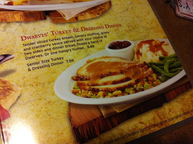 The Hobbit's Breakfast @ Denny's 03