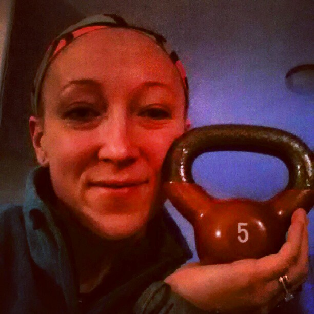 Is this not the cutest kettlebell you've ever seen?