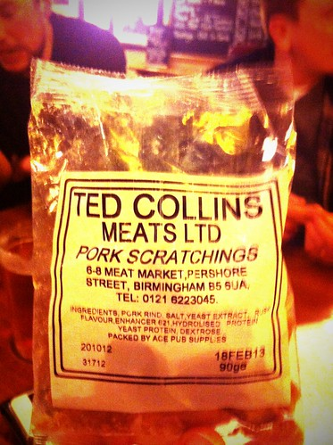 Some of the finest pork scratchings I have ever had. by Mike Rawlins