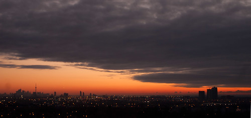 Toronto Sunrise Dec 19 2012