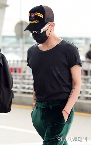 Big Bang - Incheon Airport - 26jun2015 - Press - 05