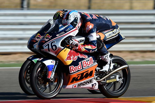 MotoGP Red Bull Rookies Cup: Макар Юрченко вошел в десятку быстрейших гонщиков мира 2016GEPA-24091698044