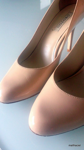 Nude Patent Shoes