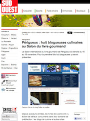 Périgueux - Huit blogueuses culinaires au salon du livre gourmand