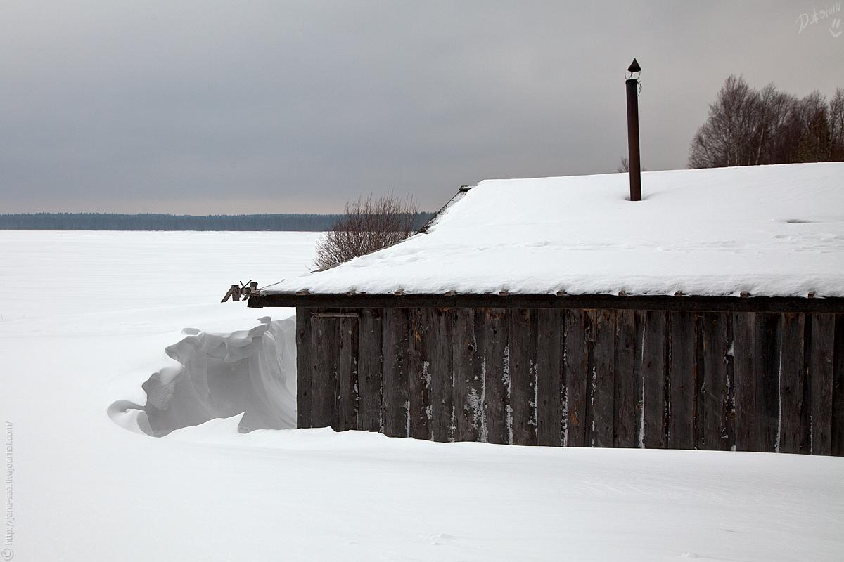 Деревня Морщихинская. Берег Лекшмозера