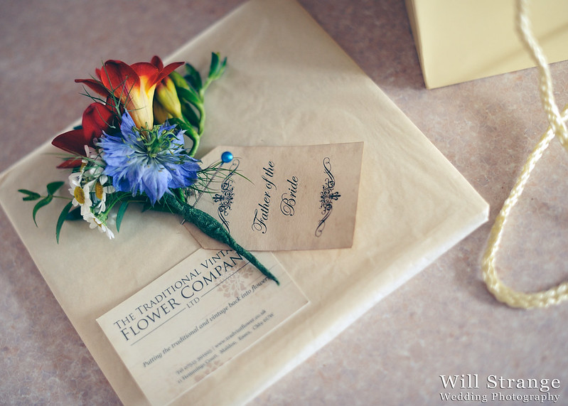 Buttonhole by the Traditional Vintage Flower Company