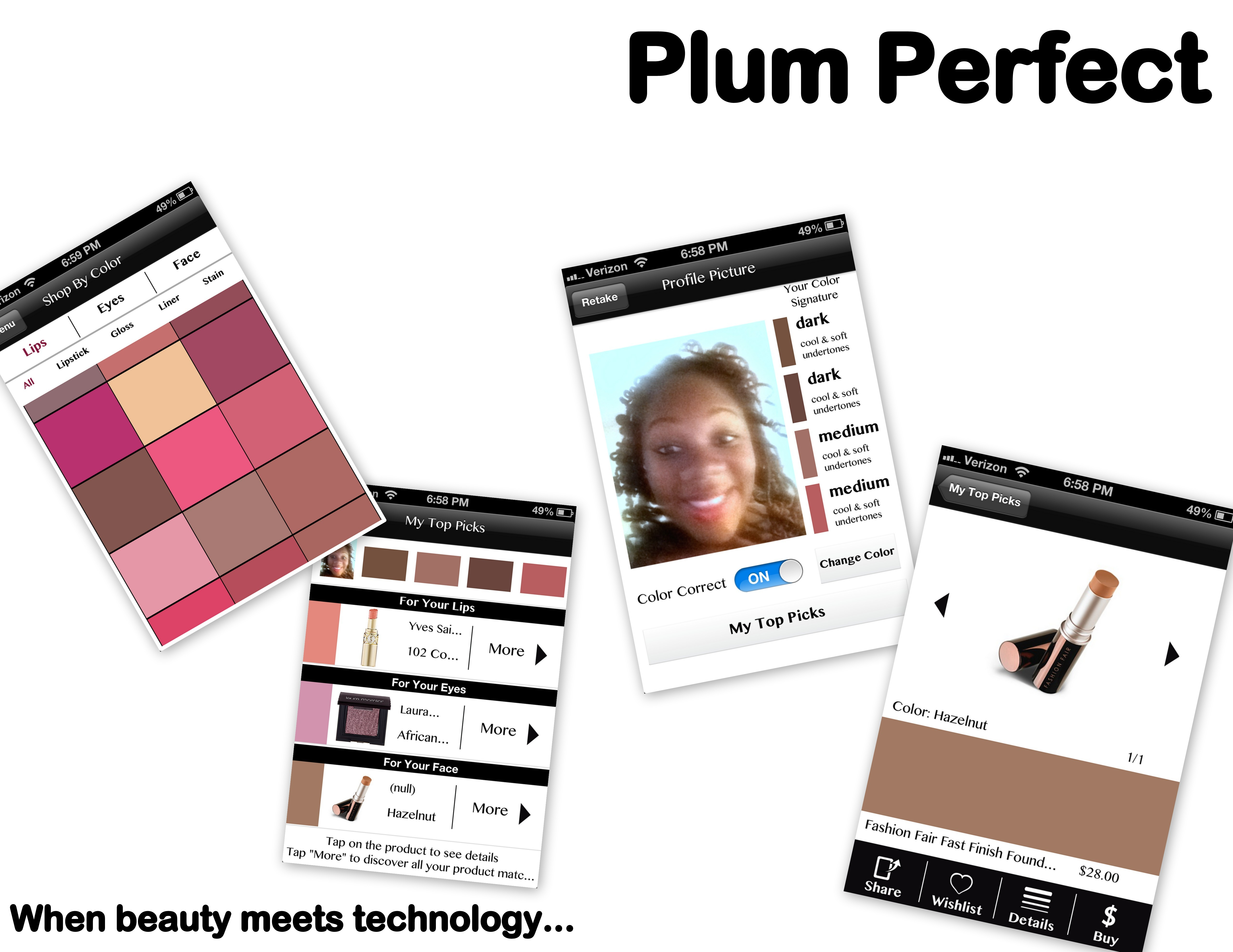 Plum Perfect - An App for Beauty Junkies